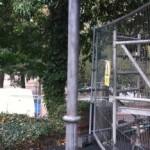 McFarlane Cast Iron Column after blasting