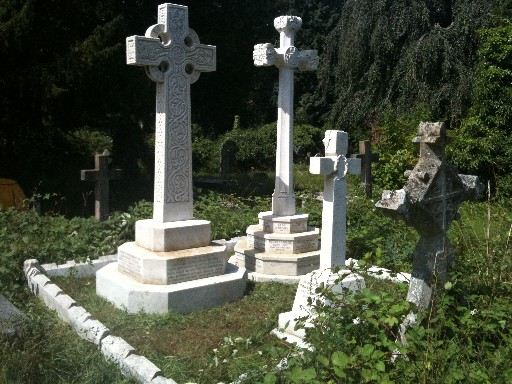 White Marble Monuments After Cleaning